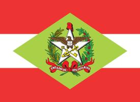 Flag of Santa Catarina